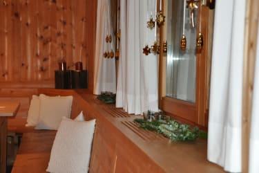 Gästestube liebevoll dekoriert