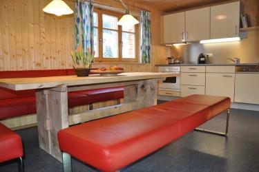 Appartement Auenfeld - Wohnraum