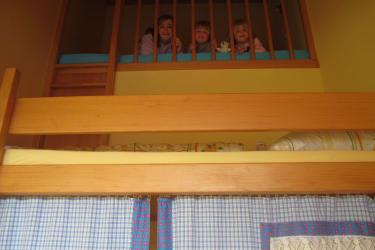 Bergpanoramawohnung-Kinderzimmer