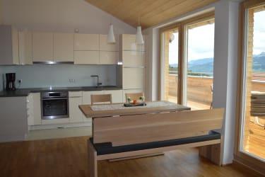 Wohnung Hochgratblick Wohnküche