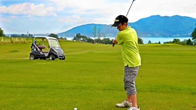Golf und Seen Medium
