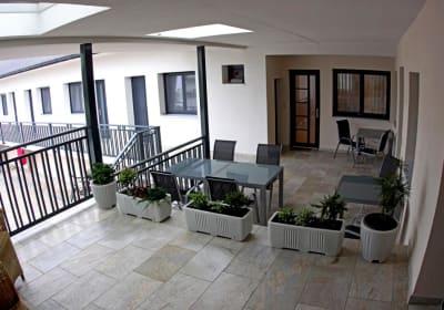 die neue Terrasse