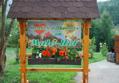 """Malehof- """"Herzlich Willkommen"""""""