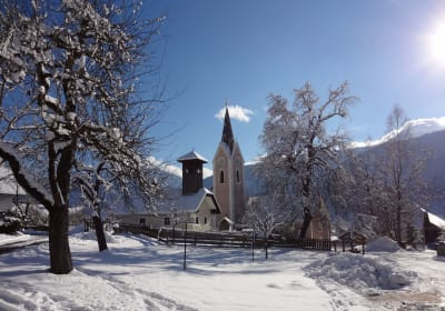 Malerhof im Winter