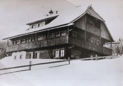 Alte Ansicht Haus Baierberg