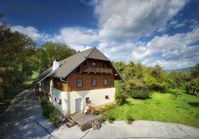 Bio Sonnenhof Ferienhaus Urlaub in Känten