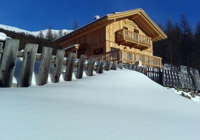 Die atemberaubende Schneelandschaft bietet im Winter eine Kulisse für aussergewöhnliche (Gedanken-)Bilder.