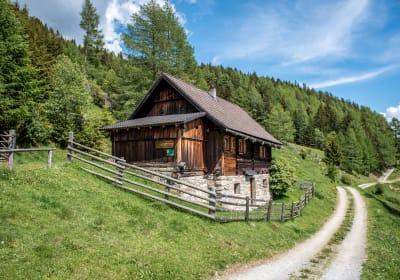 Jörglbauerhütte Westansicht