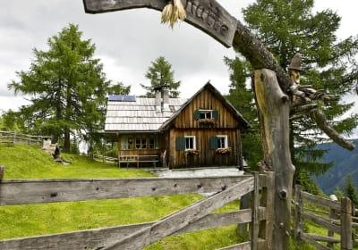 Bacherhütte Eingangstor