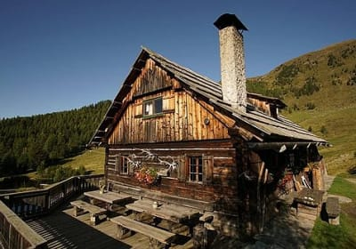 Lamprecht Alm Hütte
