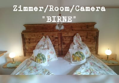 Room Pear, New Design - Beds made of Swiss Pine