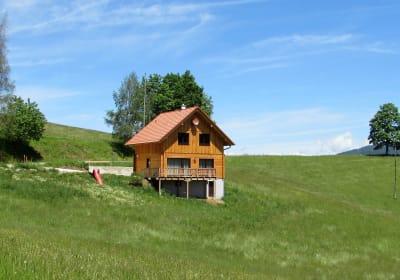 Ferienhaus in Alleinlage und Bauernhofnähe