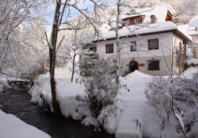 Winter am Grubmühlenweg