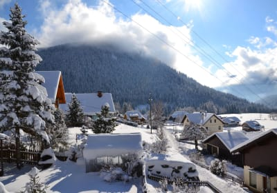 Herrlicher Wintertag