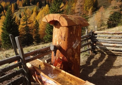 Unser neuer Hüttenbrunnen