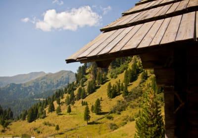 Hütte Vorne