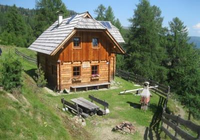 Lederwischhütte - Seehöhe 1700 m