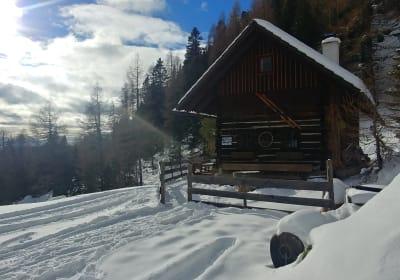 Petra Hütte Winter