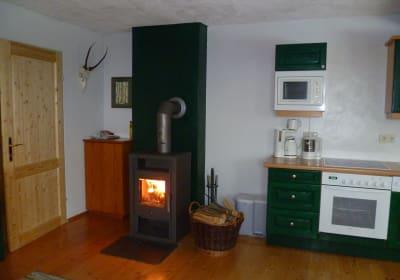 Zusatzofen Wohnung Tschamutsch
