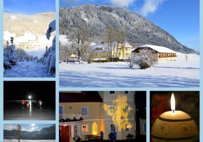 Our beautiful Talhof in wintertime!