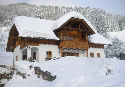 Breitenberg - holiday house in winter