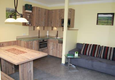 Lachinger - Ferienwohnung - Wohnküche