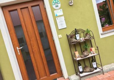 Weigut Obenaus - Eingang