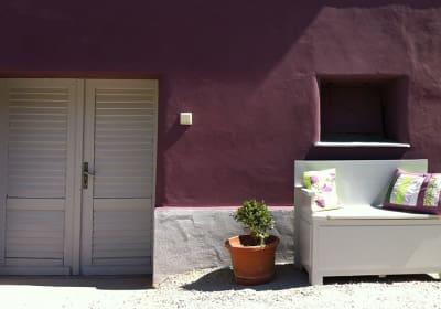 Traubengarten Winkler - Außenansicht Kellertüre