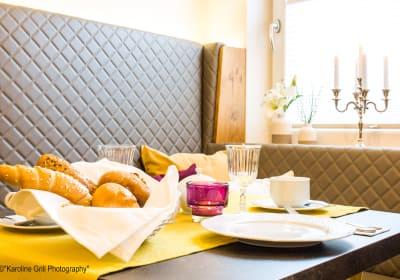 Winzerhof Leonhartsberger - Frühstücksbuffett