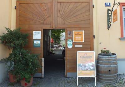 Cobaneshof Eingang