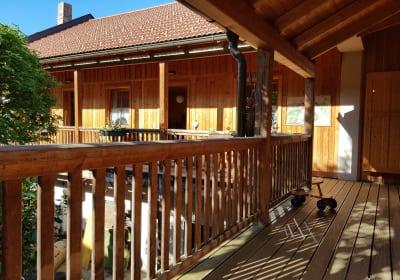 Pferdehof Jauerling - Balkon