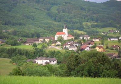 Blick auf St. Gotthard