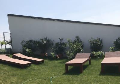 Ferienhaus Kuckucksnest - Garten