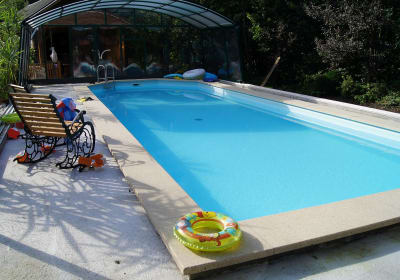 Die Gartenlaube - Schwimmbad, beheizt und überdacht