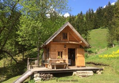 Holzknechthütte - Frühling