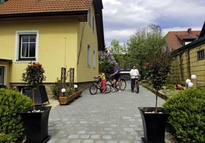 Ferienwohnung Gundacker - Haus  mit Einfahrt