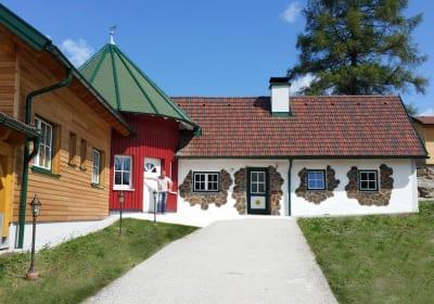 Kampidyll - Außenansicht Haus