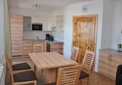 Ferienwohnung Pyhrgas - Wohnküche