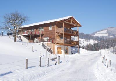 Ansicht Winter Ferienhaus