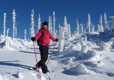 Schneeschuhwanderung zum Plöckenstein