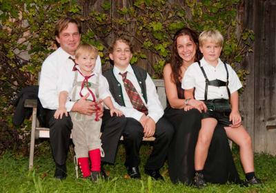 Familienfoto 2010