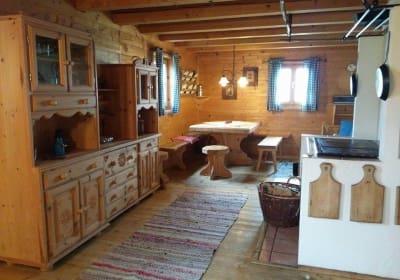 Wohn-Kochstube