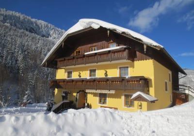 Vordergrubenbach im Winter