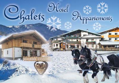 Hotel, Apartements, Chalet
