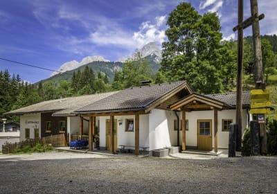 Gruppen - Selbstversorgerhütte Leitenmühle