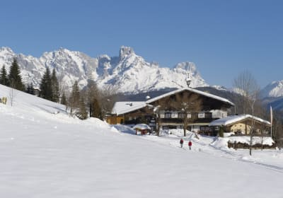 Cross country piste to Wildau