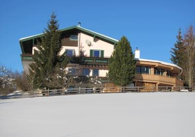 Landhaus Santner im Winter
