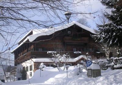 Millinghof mit Schneehaube