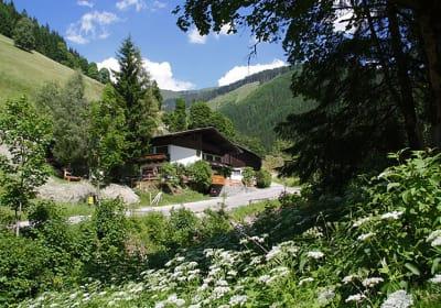 Sommer Bauernhaus