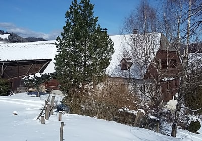 Winterurlaub auf der Reiterhube, Zirbitz, Steiermark
